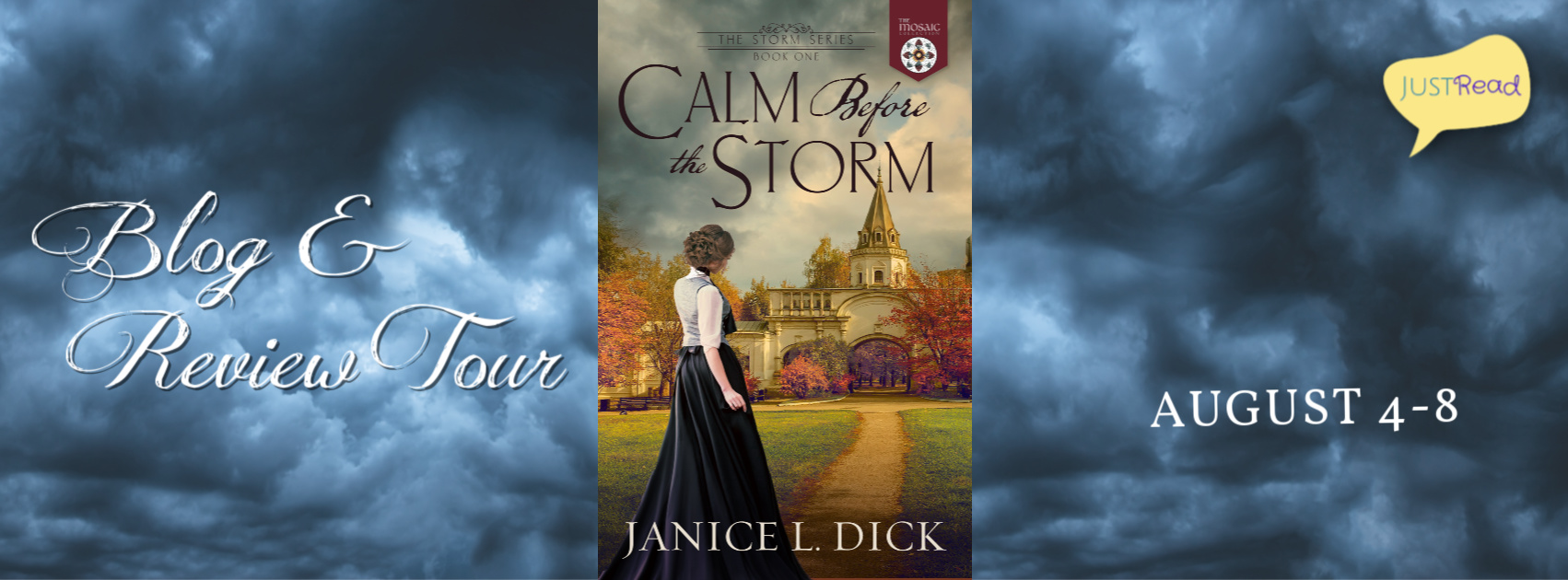 Welcome to the Calm Before the Storm Blog Tour & Giveaway!
