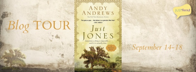 Just Jones JustRead Blog Tour