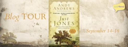 Just Jones JustRead Blog Tour