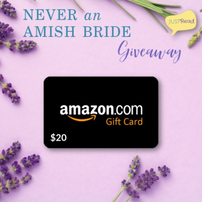 Never an Amish Bride JustRead Giveaway