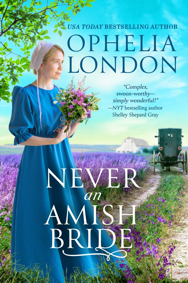 Never An Amish Bride by Ophelia London