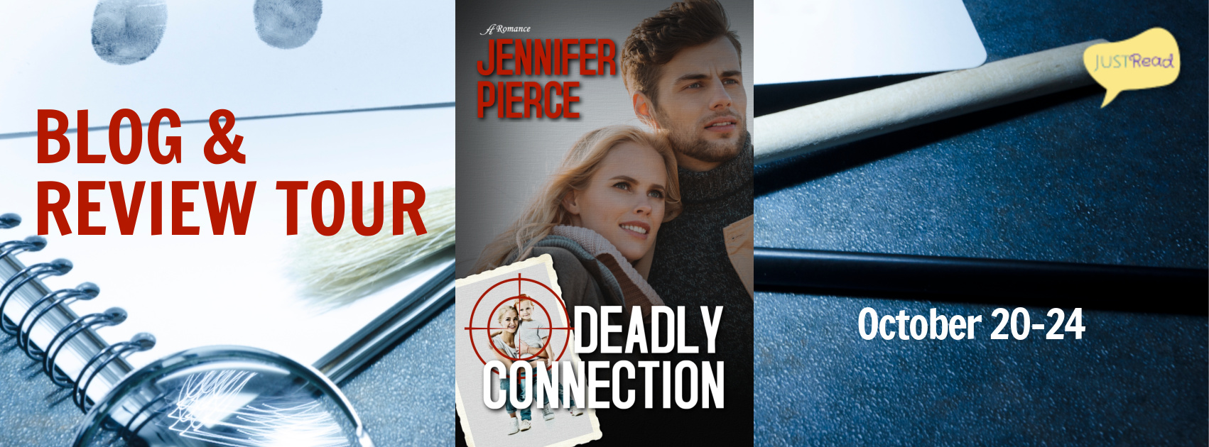 Welcome to the Deadly Connection Blog + Review Tour & Giveaway!