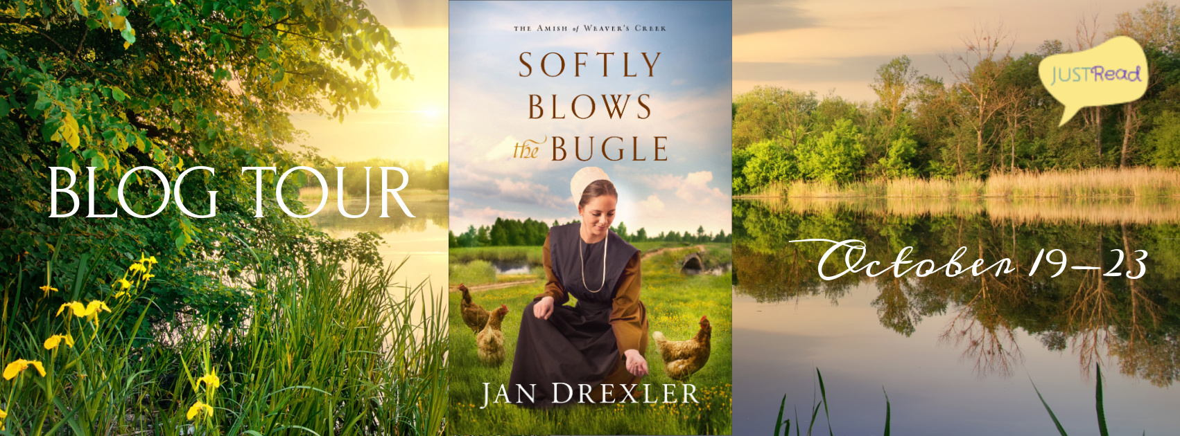 Welcome to the Softly Blows the Bugle Blog Tour & Giveaway!