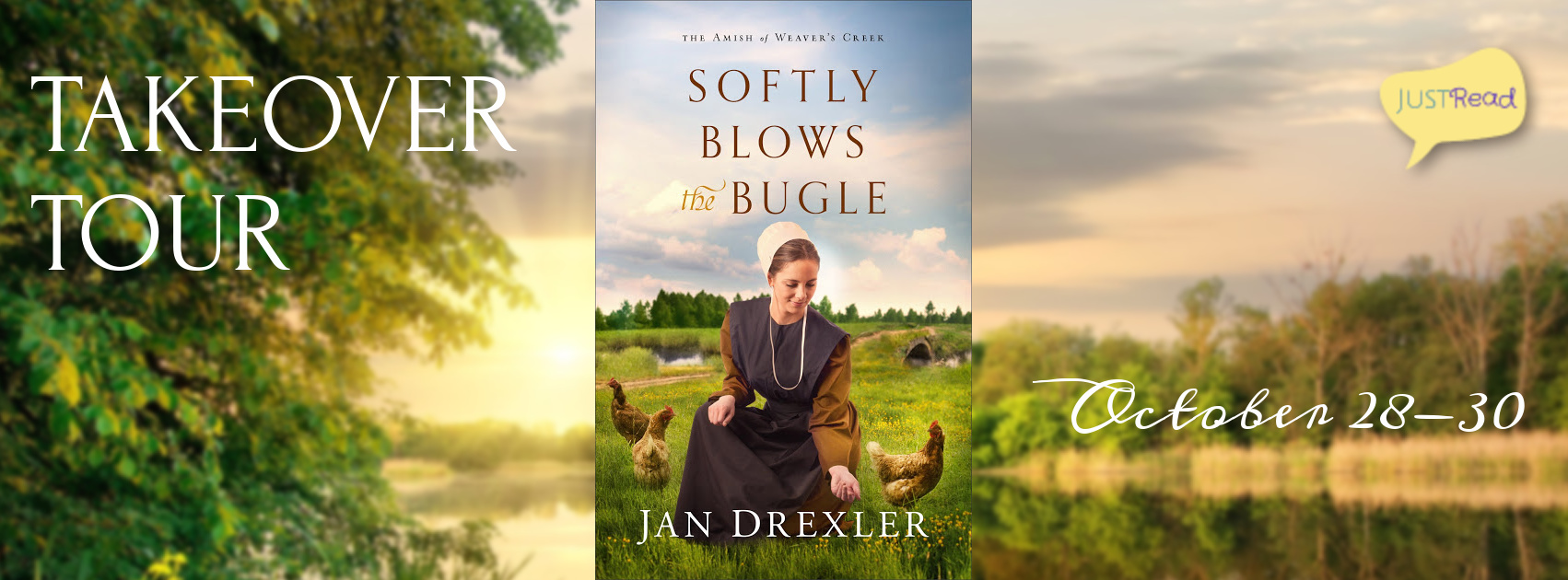 Welcome to the Softly Blows the Bugle Takeover Tour & Giveaway!