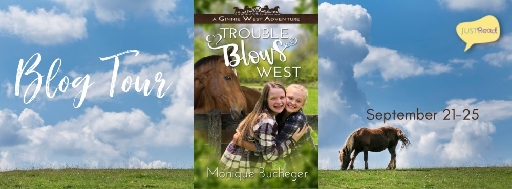 Trouble Blows West JustRead Blog Tour