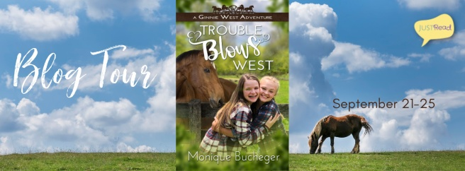 Trouble Blows West JustRead Blog Tour