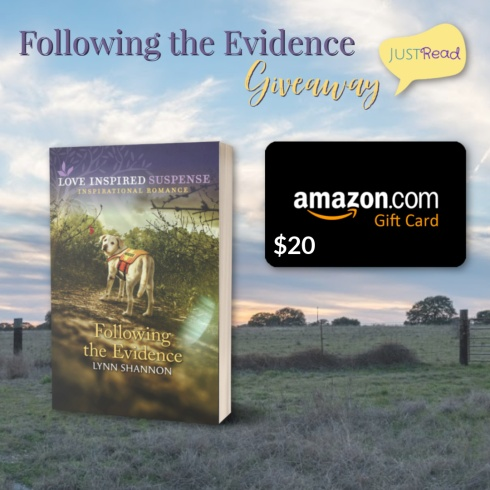Following the Evidence JustRead Giveaway