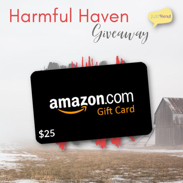 Harmful Haven JustRead Giveaway