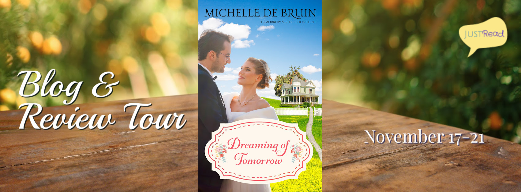Welcome to the Dreaming of Tomorrow Blog + Review Tour & Giveaway!