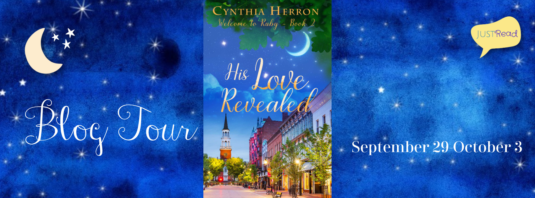 Welcome to the His Love Revealed Blog Tour & Giveaway!