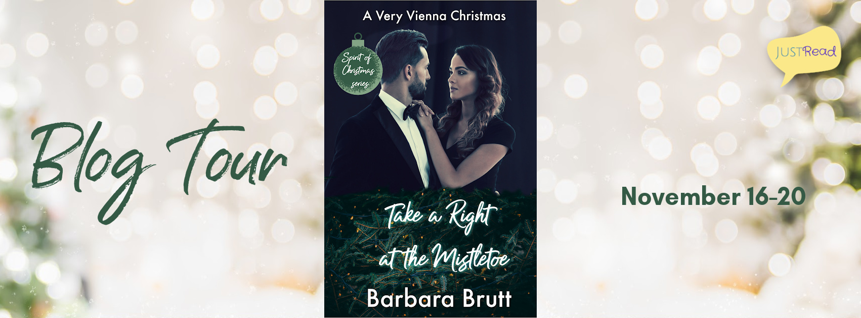Welcome to the Take a Right at the Mistletoe Blog Tour & Giveaway!