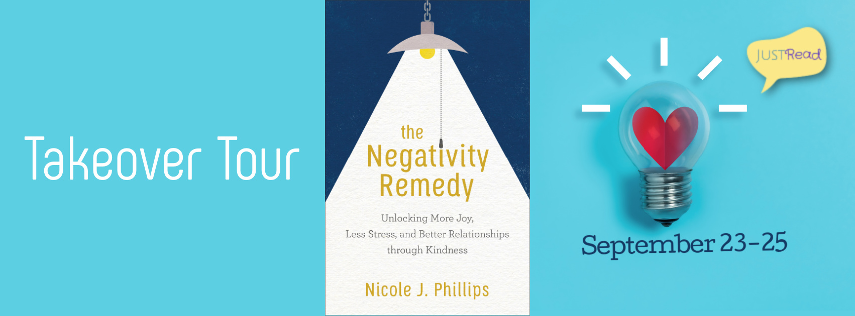 Welcome to The Negativity Remedy Takeover Tour & Giveaway!