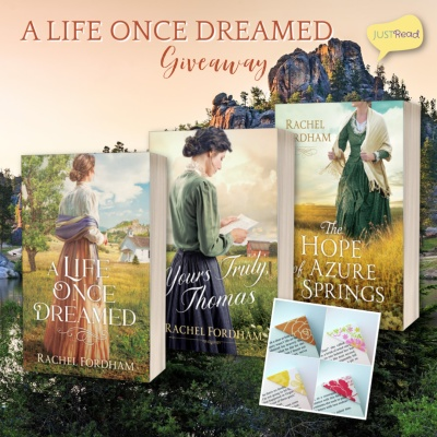A Life Once Dreamed JustRead Giveaway