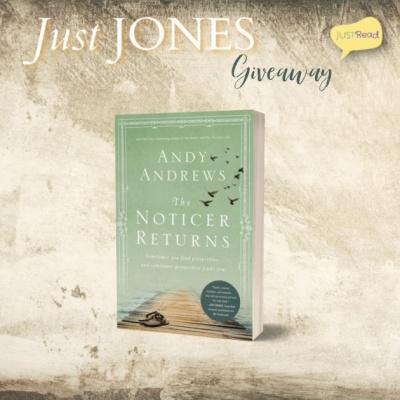Just Jones JustRead Blog Tour Giveaway