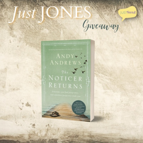 Just Jones JustRead Blog Tour Giveaway