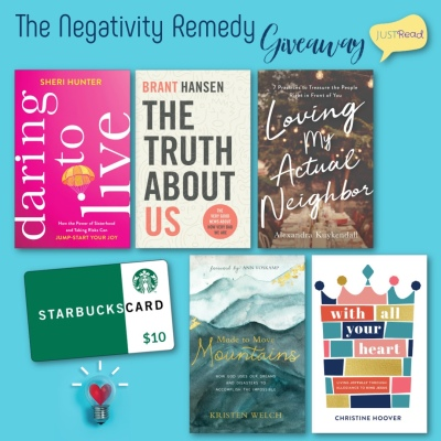 The Negativity Remedy JustRead Giveaway