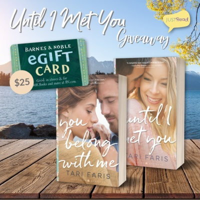 Until I Met You JustRead Takeover Giveaway