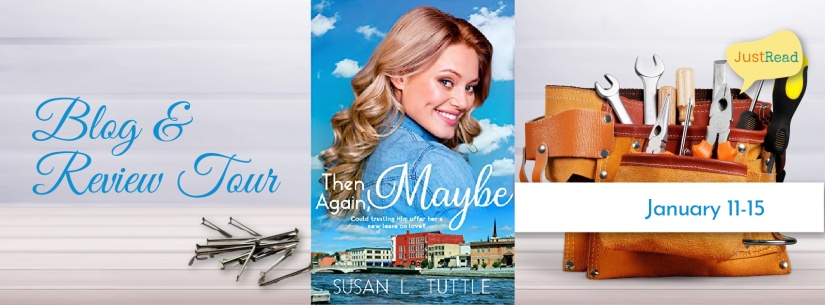 Then Again, Maybe Blog Tour: Author Interview + Giveaway