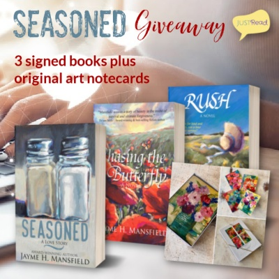 Seasoned JustRead Giveaway