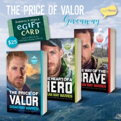 The Price of Valor JustRead Giveaway