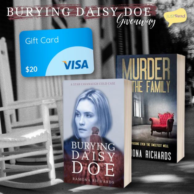 Burying Daisy Doe JustRead Giveaway