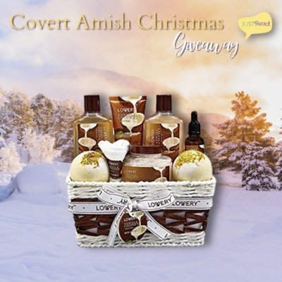 Covert Amish Christmas JustRead Giveaway