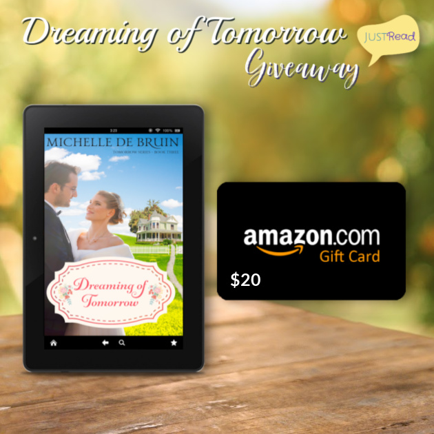 Dreaming of Tomorrow JustRead Giveaway