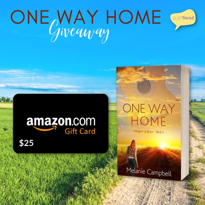 One Way Home JustRead Giveaway