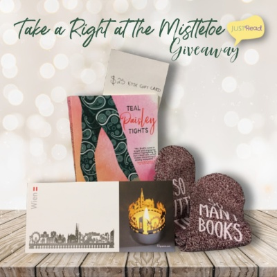 Take a Right at the Mistletoe JustRead Giveaway