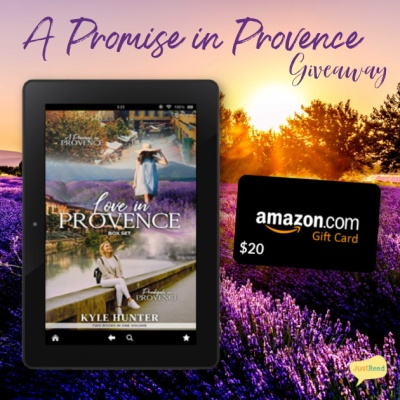 A Promise in Provence JustRead Giveaway