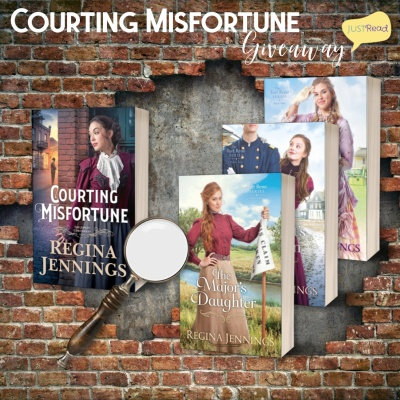 Courting Misfortune JustRead Giveaway